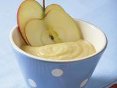 Cómo preparar compota de manzana para el bebé
