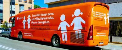 Este es el autobús original de HazteOir.org