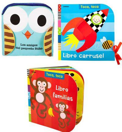 Libros para estimular a tu bebé