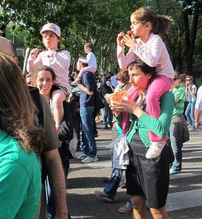 Hubo protestas contra la Lomce en una treintena de ciudades