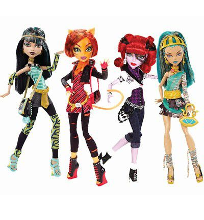 Muñecas Monster High. Mattel