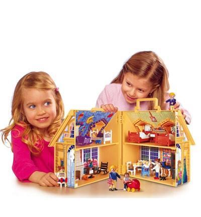 Casa de muñecas maletín. Playmobil
