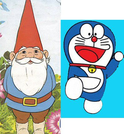 David el Gnomo vs. Doraemon