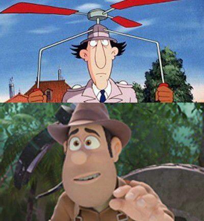 Inspector Gadget vs. Tadeo Jones