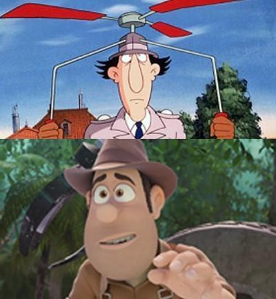 Inspector Gadget vs. Tadeo Jones