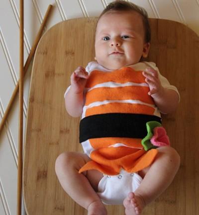 El bebé sushi
