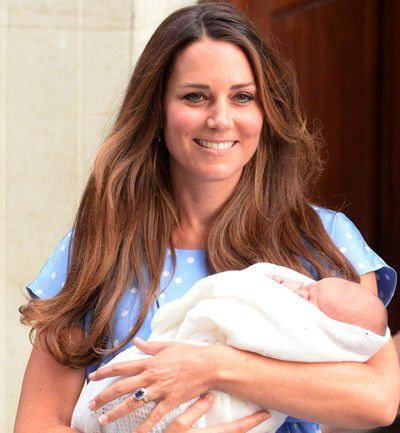 Kate, radiante