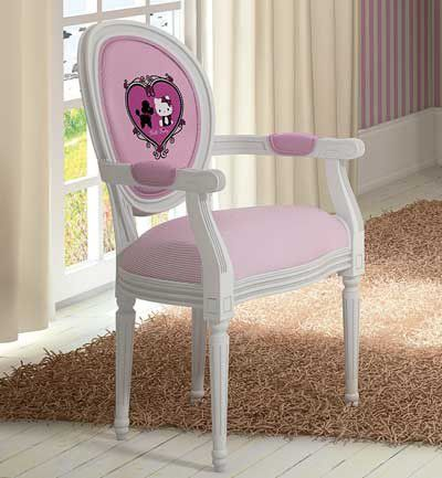 Sillón de Hello Kitty