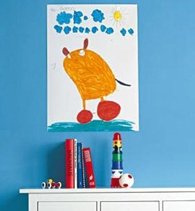 Poster para habitaciones infantiles