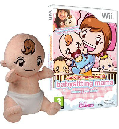 Cooking mama world: Babysitting Wii