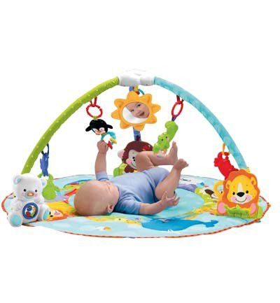 Gimnasio de animales de Fisher-Price