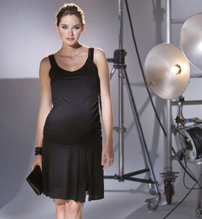 Little black dress premamá