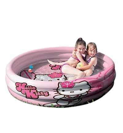 Piscina hinchable de Hello Kitty