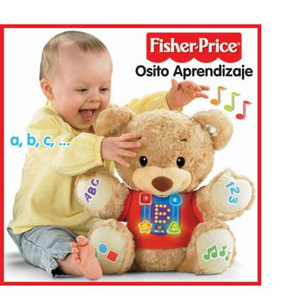 Osito Aprendizaje. Fisher Price