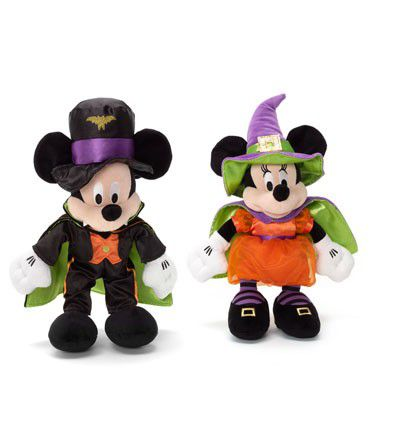 Mickey y Minnie Mouse, magos