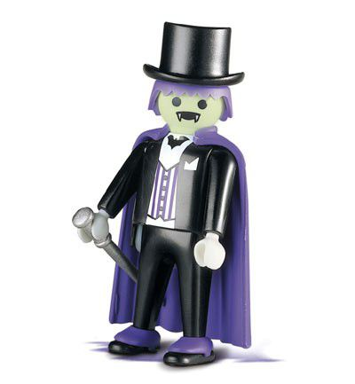 Muñecos de Playmobil disfrazados de Halloween