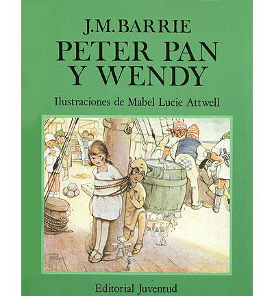 Libro de Peter Pan y Wendy