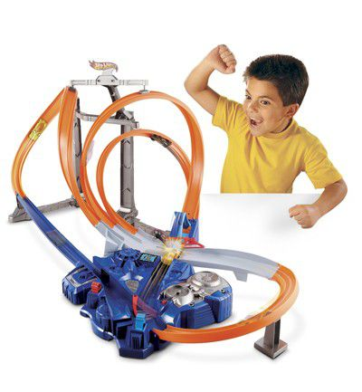 Pista Triple Looping de Hot Wheels