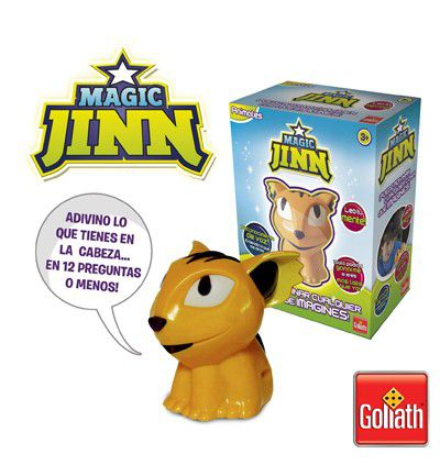 Magic Jinn, la mascota adivina de Goliath
