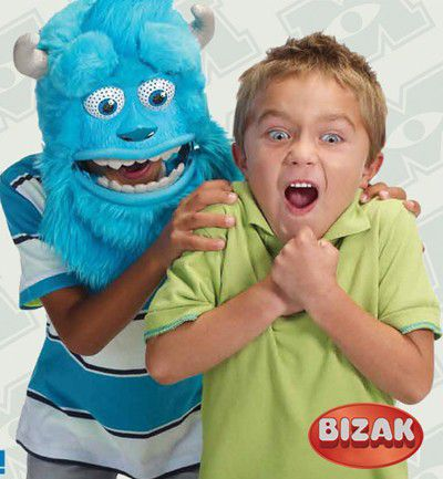 Monsters University: máscara de Sulley Interactiva