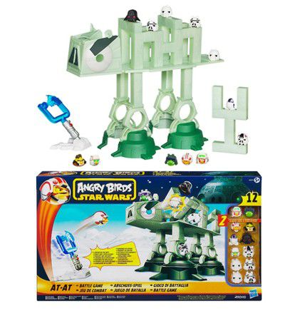 Figuras de Acción: Angry Birds Star Wars- AT AT ATTACK de Hasbro