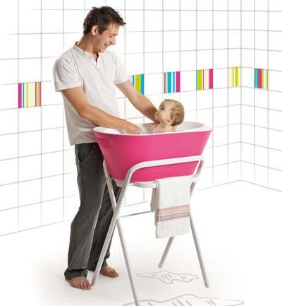 La bañera del bebé