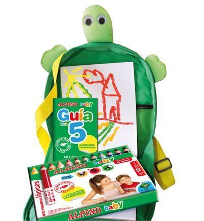 Con forma de tortuga