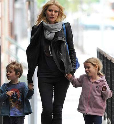 Apple y Moses, los hijos de Gwyneth Paltrow