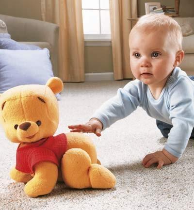 Gateo con Winnie the Pooh