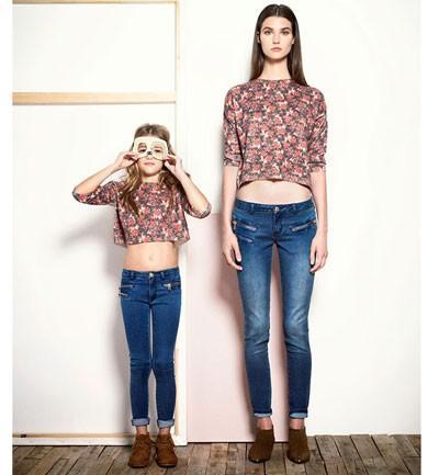 Colección Mini Me, cómo vestirse madre e hija en Mango