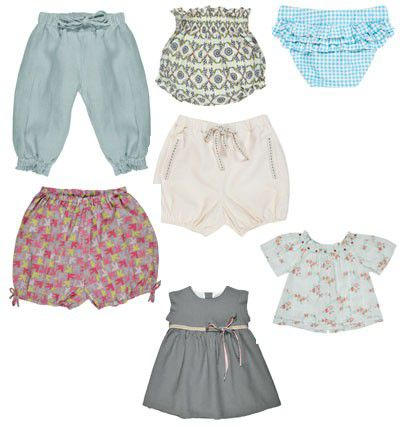 Pantalones bombachos para bebés
