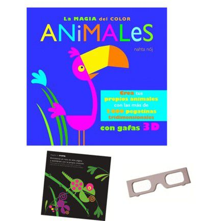 La magia del color: Animales