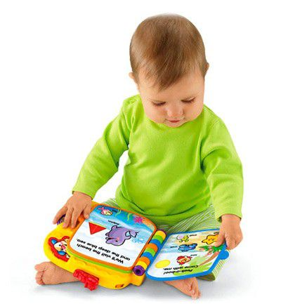 Libro Amiguitos del Zoo. Fisher Price