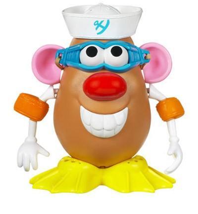 Años 50. Mister Potato