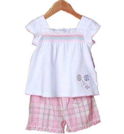 Pijama de niña de Mini Vainilla