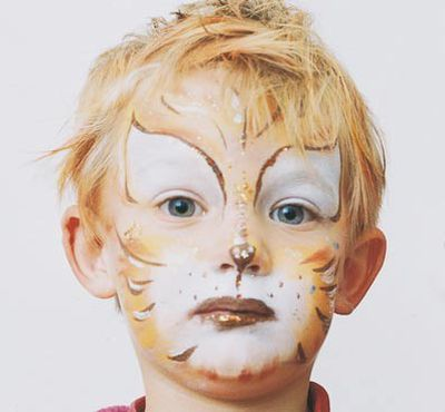 Maquillaje: Cara de gato