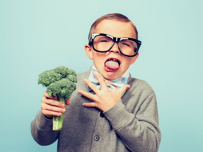 niño odia brocoli