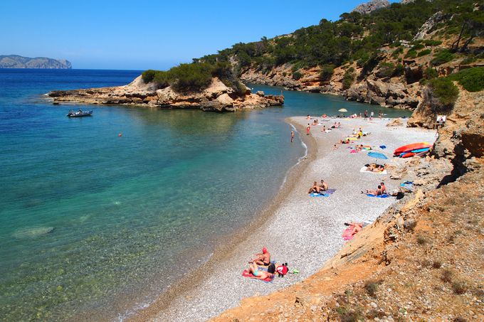 playa paradisíaca S'Illot