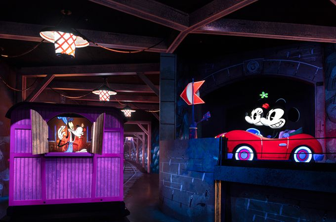 Nueva atracción Mickey and Minnie
