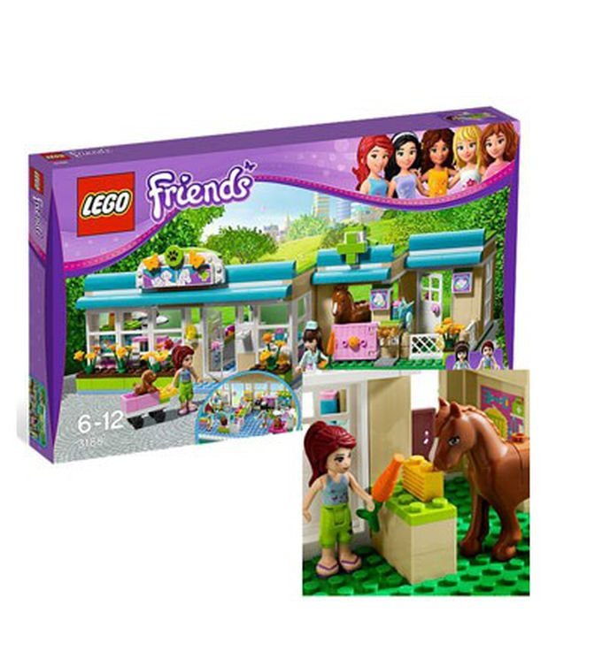 Lego Friends. El veterinario de Heartlake City. Lego