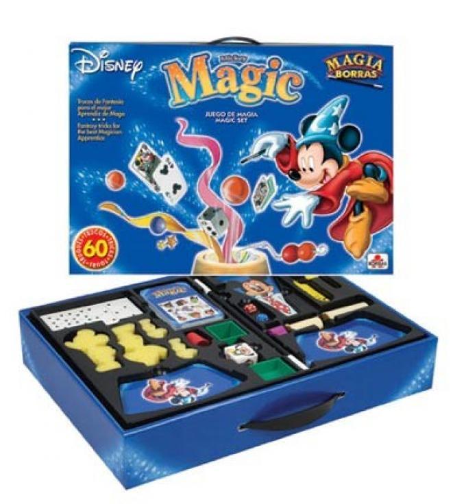 Mickey Magic Magia DVD. Educa Borrás