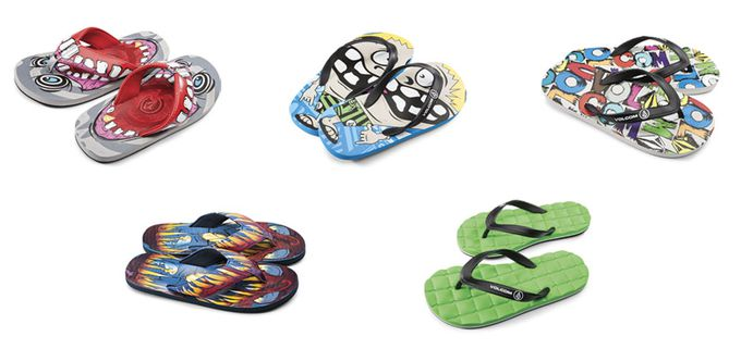 Locas chanclas Volcom Youth