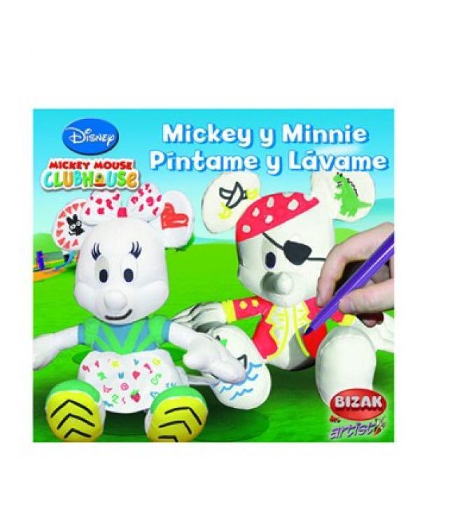 Micky y Minnie Píntame y Lávame. Bizak