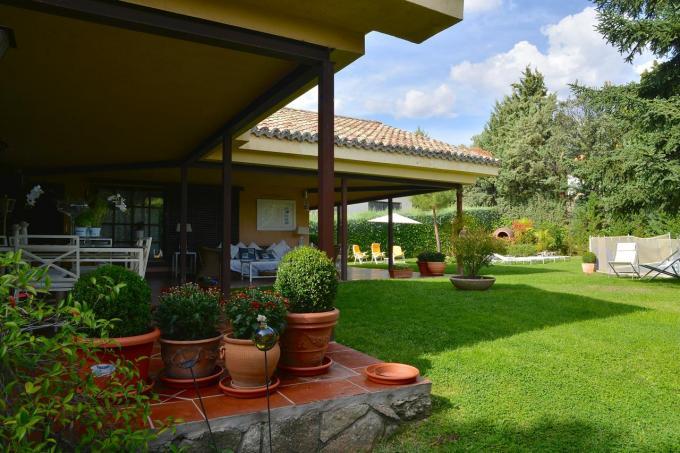 Casa Las Aguas Sierra de Guadarrama, en Alpedrete (Madrid)