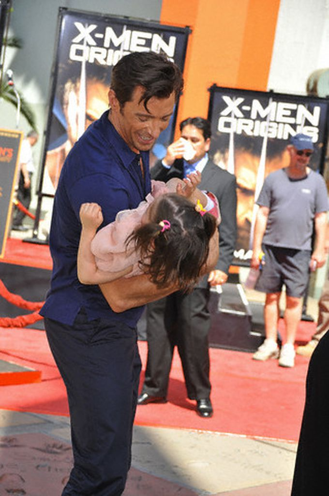 Hugh Jackman, el papá lobezno