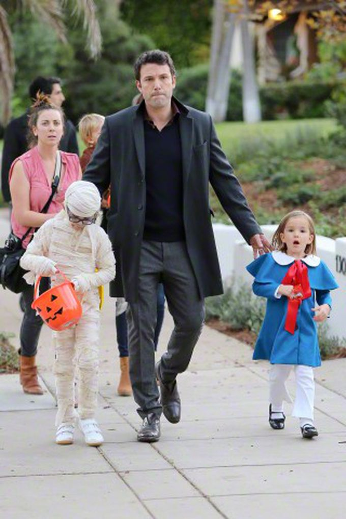 Ben Affleck, un papá divertido
