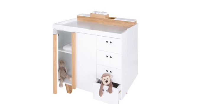 Cambiador Ninetonine Owl Changing Table