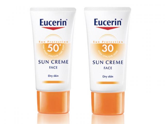 Crema facial para pieles secas de Eucerin