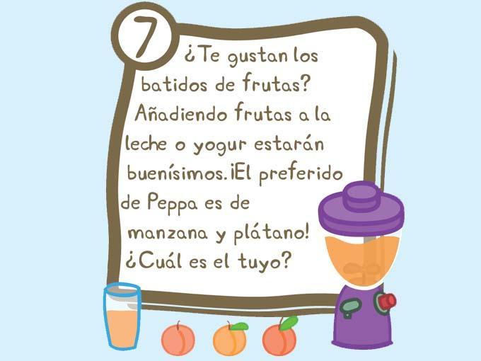 Inventa tu batido de frutas favorito