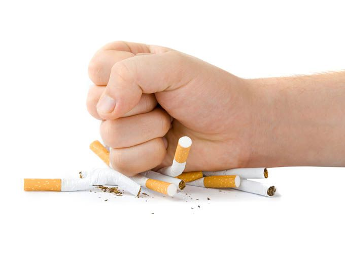 ¡Fuera la nicotina!
